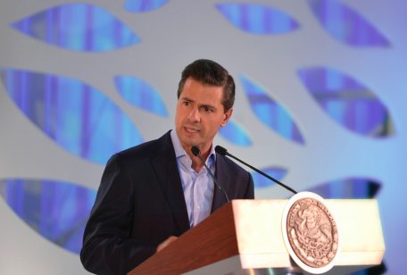 What President Enrique Peña Nieto leaves to the Telecom